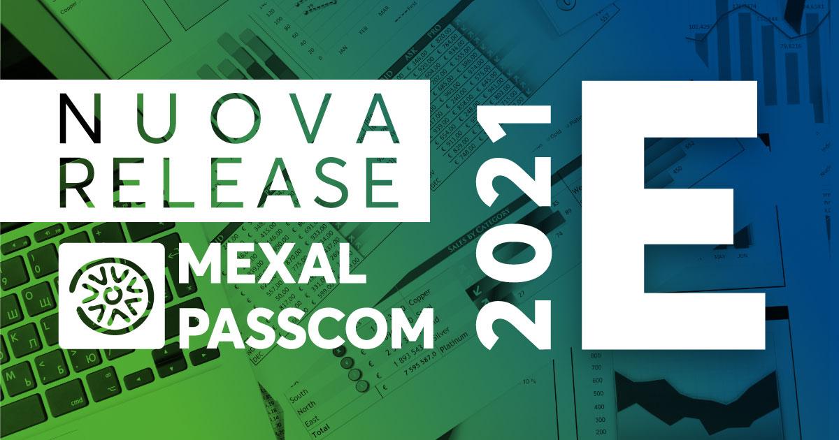 NUOVA VERSIONE 2020M MEXAL E PASSCOM