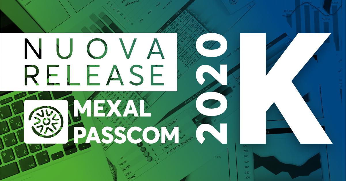 NUOVA VERSIONE 2020J MEXAL E PASSCOM
