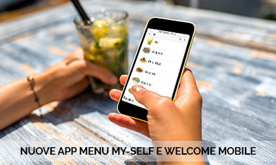 APP WELCOME MOBILE E MENU MYSELF