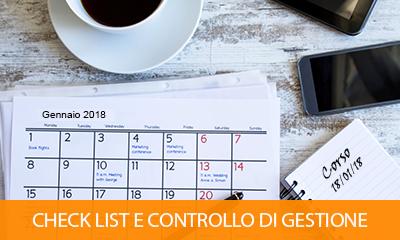 CORSO CHECK LIST E CONTROLLO DI GESTIONE STUDIO
