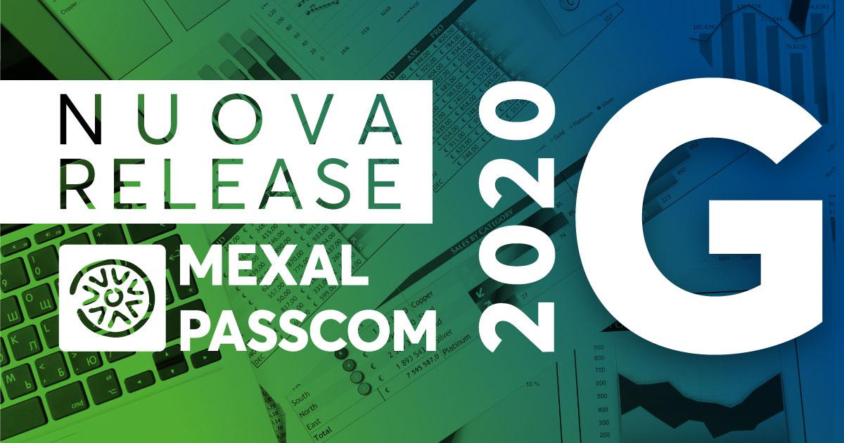 NUOVA VERSIONE 2020G MEXAL E PASSCOM