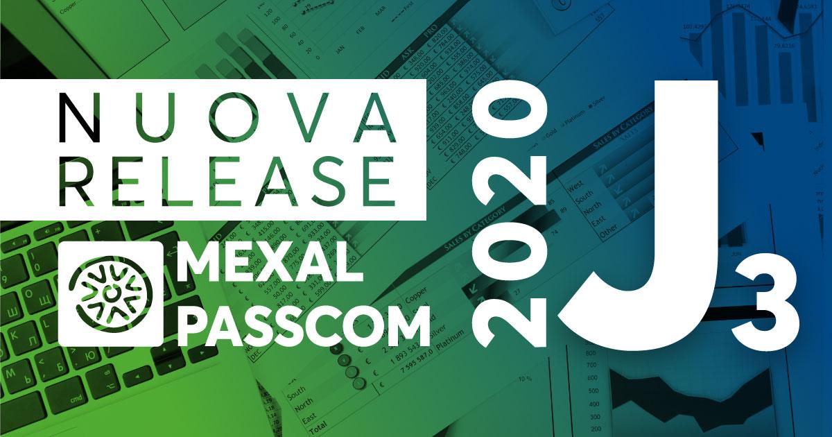 NUOVA VERSIONE 2020J3 MEXAL E PASSCOM